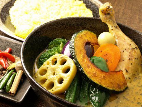 スープカリー イエロー soup curry yellow