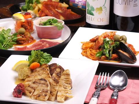 気軽に立ち寄れる、隠れ家イタリアンバル♪『cafe&restaurant UNO』!