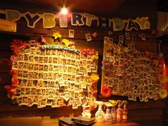 今まで数々のお誕生日のお祝いをお手伝いさせて頂いています♪これからもお祝いし続けます!!