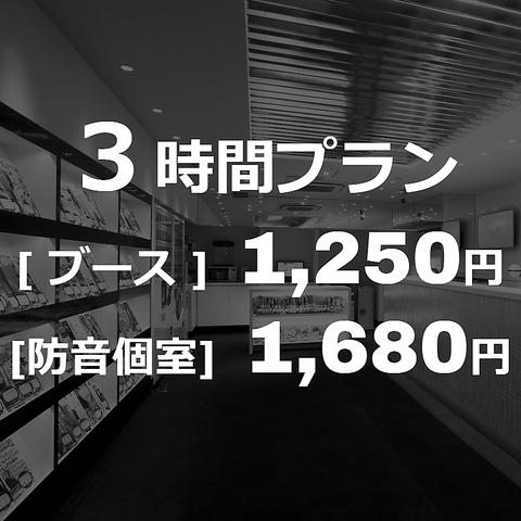 【1番人気!デイパック】3時間プラン