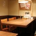 【テーブル個室】個室となっておりますので、接待などにも◎