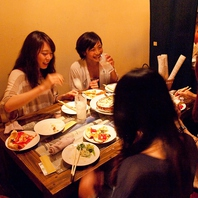 平日限定!デザートが選べれる女子会プラン3780円♪