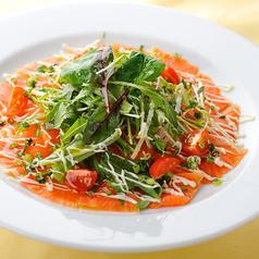 本日の鮮魚のカルパッチョ・香味野菜添え