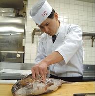 料理長横田秀治の技と心をこめて