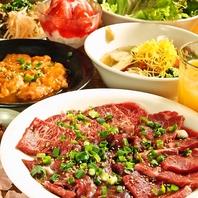 お肉以外の焼物やサイドメニューも豊富で旨い!