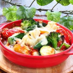 有機野菜のチーズドリア