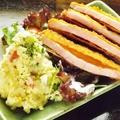 料理メニュー写真ポテトサラダ、マカロニサラダ