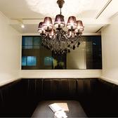 雰囲気の良さは最上級。シャンデリア個室★