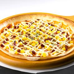 料理メニュー写真コーンマヨピザ