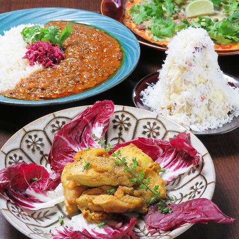 ◆女子会にもおすすめ!発酵食材も入ったボリュームたっぷりなお料理♪お得な2000円コース!◆