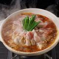 料理メニュー写真豚バラと野菜の旨辛鍋
