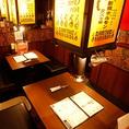"""【<6名様迄>BOX席】上野駅5分と駅近でアクセス抜群。ホルモンや赤身肉を中心にこだわりの""""炭火焼肉""""を堪能。"""