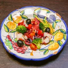 料理メニュー写真冷製!ガルシアのタコマリネ