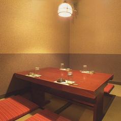 【お座敷個室】最大4名様まで◎女子会やデートなど、少人数でのご宴会にピッタリなお席です。