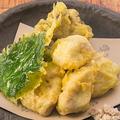 料理メニュー写真鰤白子の天ぷら