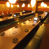 ゆったり寛げる掘り炬燵席。さらに大好評!!8名様以上の御予約で「横断幕」ご用意できます!宴会に最適なお得な飲み放題付きコースや食べ放題付きコースなど多数ご用意しておりますので合わせてご利用下さい☆人気のお席はすぐに埋まってしますのでご予約はお早めに!!