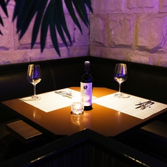 テーブル席【3名様~6名様】女子会や仲間同士のちょっと贅沢なご宴会に