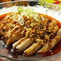 料理メニュー写真よだれ鶏(中辛)