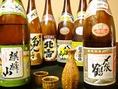 地酒含む日本酒は30種類以上の圧巻の取り揃え!迷う場合はスタッフがあなたにぴったりな日本酒をご提案致します!