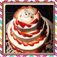 女子会・誕生日に♪大人気☆『しろくまケーキ』