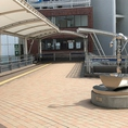 歩いて30秒く程歩くと、歩道橋の突き当り左脇に下りの階段、もしくはエレベーターがあります♪「ヤキトリ酒場武州屋」迄あと徒歩30秒です!!!
