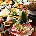 飲み放題付きのコースではお料理に合うお飲み物を多数ご用意致しております★定番のビールはもちろん、女性におすすめのサワーやカクテル、お酒好きにはたまらない日本酒や焼酎、地酒など各種様々な種類のお酒がございます♪