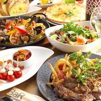 美味多彩な料理の数々&豊富なドリンクメニューが魅力★