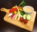 料理メニュー写真まるごと野菜のスティックサラダ