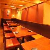 10名様~16名様のご宴会もテーブル席でご利用できます。ふすまで仕切り半個室にもできます。