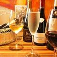 ワイン片手に軽めのフードをつまんだり、がっつり食事をしたり、友達や同僚とパーティーを開いたりと、シチュエーションに合わせて様々な使い方ができます!