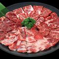 料理メニュー写真4人盛 お肉800g