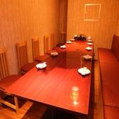2名~10名様用:テーブル個室