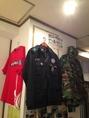 韓国の軍服も展示中。是非着てみてください
