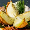 料理メニュー写真淡路島産玉葱の丸ごと焼き