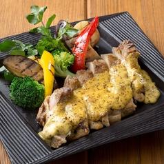 料理メニュー写真若鶏と野菜のマスタードGRILL