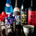 焼酎、日本酒多数ご用意してます♪美味しいお酒をリーズナブルにお楽しみいただけます!