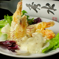 料理メニュー写真ぷりぷり海老のマヨネーズソース