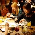 フォトジェニックなお料理は女性のお客様に大人気です♪