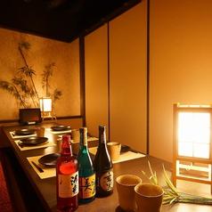 6名様までご利用いただけるお席は、飲み会におすすめです!完全個室ですので、周りを気にせずに盛り上がっていただけます。もちろんゆったりしたお部屋ですので、寛ぎながらお食事を楽しんでいただくことも可能です。人数に合わせてお部屋をご用意致しますので、ぜひご予約下さい!