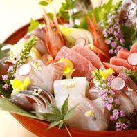 旬の海鮮を美味しい食べ方で・・・