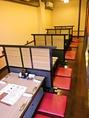 人数に合わせて多様な席をご用意、楽しい飲み会・送別会・歓迎会・宴会は是非当店で。
