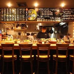 ― オープンキッチンの楽しいカウンター☆ ―