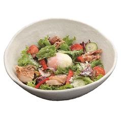 シーザーサラダ/大根サラダ/豆富とお豆のヘルシーサラダ