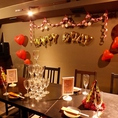 ◆完全個室【ヒミツのジュンプウ】◆1階昭和通リ炭焼酒場純風の地下にヒミツの階段があります!一切他のお客様に会わない完全隠れ家な個室になります!お誕生日・記念日サプライズにももってこいの空間!