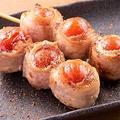 料理メニュー写真豚トマト