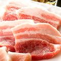 料理メニュー写真北海道産 豚バラ