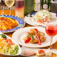 見た目は美しく味もおいしいお料理の数々!