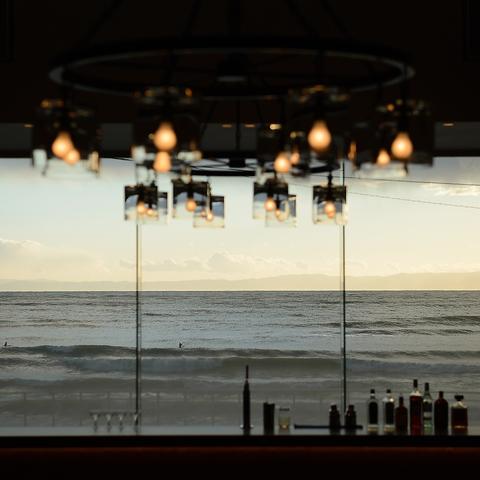 逗子海岸を眺めながら優雅なひと時を…♪
