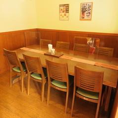 テーブル席は、全部で20席ございます。ママ会やお茶会、女子会やお食事会等、ゆったり寛ぎたいプライベート利用にぴったりです★