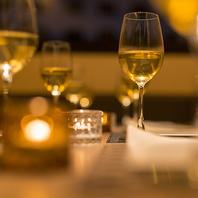楽しい時間・美味しい料理には美味しいお酒を♪
